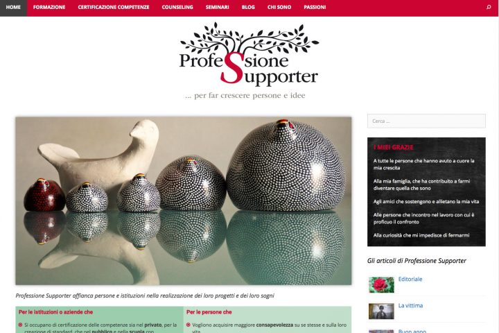 Sito web professionesupporter.it